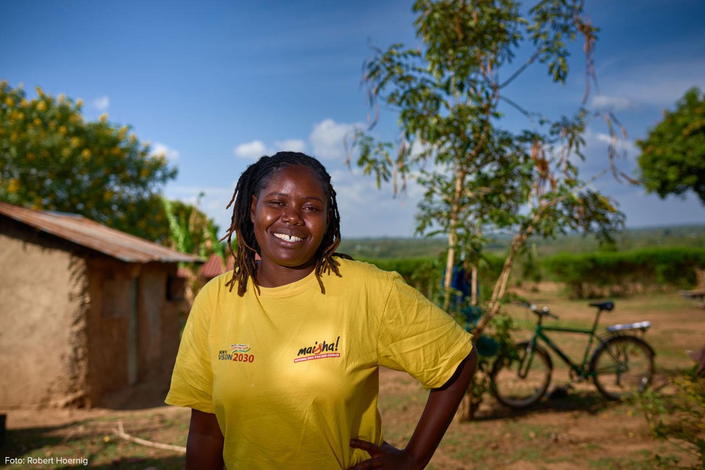 Emily Owino Atieno: Unterwegs für effiziente Kocher
